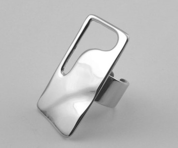 Serie Hot Rectangle - Anillo 4 x 2.3cm