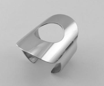 Serie Figúrate sólido - Pulsera braz. 7cm. redondo