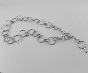 Encadenada - Collar-Cinturón eslabón red. 96cm.largo