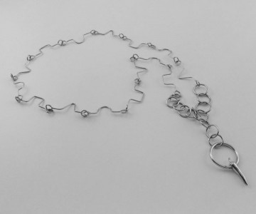 Serie Encadenada - Collar - eslabón figuras 115cm. largo